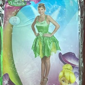 New Disney Adult Tinker Bell Costume - Small